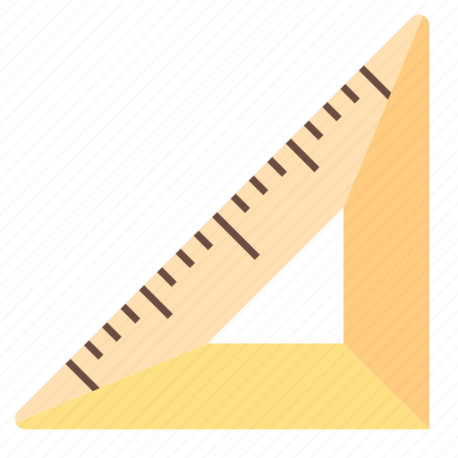design, office, tool, triangle, work icon