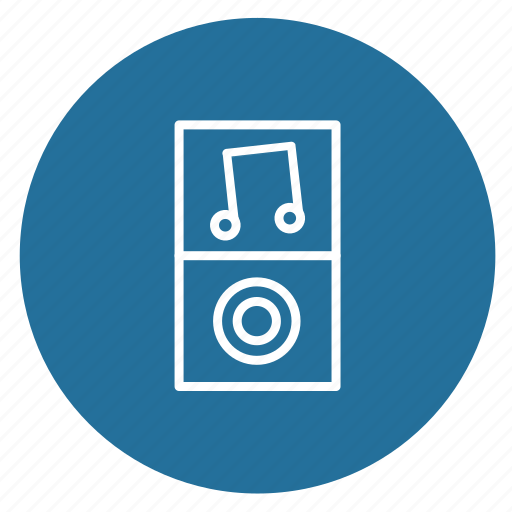 audio, equipment, mp3 player, mp4 player, music, play, player icon