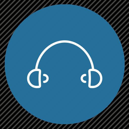 audio, headphones, multimedia, music, play, player, sound icon
