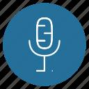 microphone, recording, sound icon