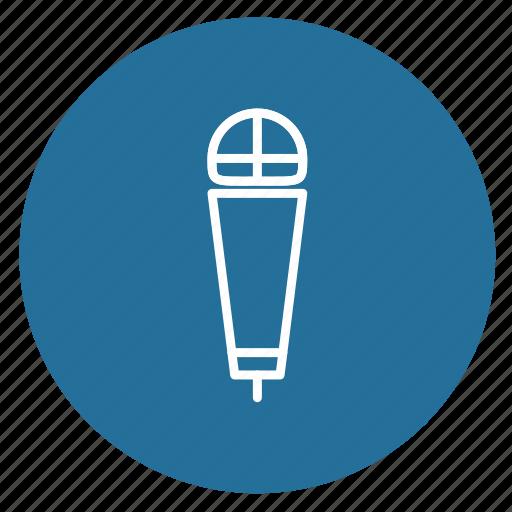 audio, equipment, microphone, multimedia, music, record, recording icon