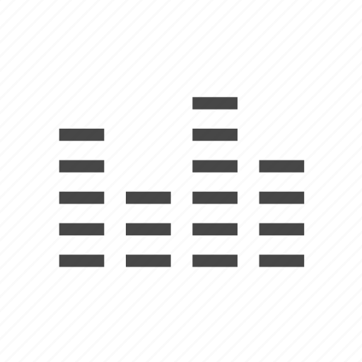 audio, equalizer, sound icon
