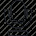 micro, music, sound, tuning icon