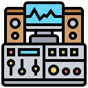 studio, production, console, audio, control