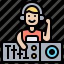 dj, headphone, music, remix, song
