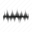 audio, beat, equalizer, music, sound, wave, waveform icon