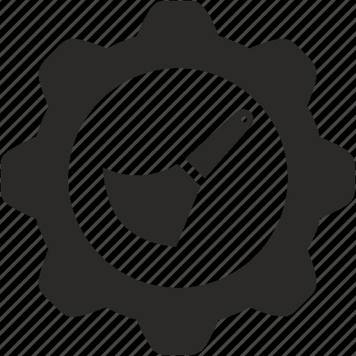 backspace, brush, edit, erase, graphics icon