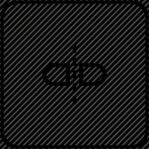 divide, meds, separate, tablet icon