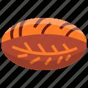 art, bake, bakery, bread, sourdough icon
