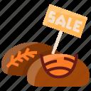 discount, market, sale, shop, sourdough, store