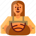 avatar, baker, bread, sourdough, woman