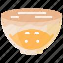flour, ingredient, plastic, rest, sourdough, wrap icon