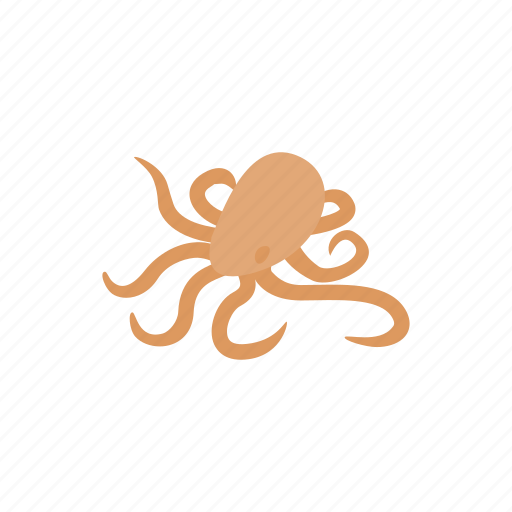 animal, isometric, nature, ocean, octopus, sea, tentacle icon