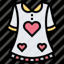 clothes, dress, fashion, shirt icon