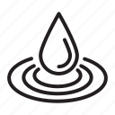 drop, liquid, water icon