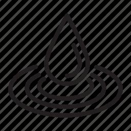 drop, liquid, water icon