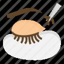 beauty, extension, eye, eyelashes, lashes