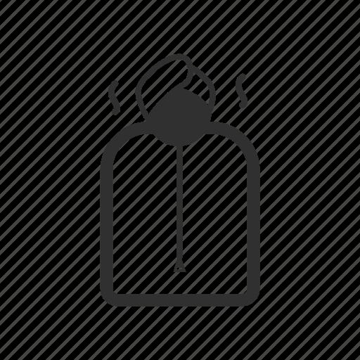 cartoon, illustration, line, sauna, spa, thin, thin line icon