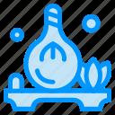 aroma, herb, oil, spa icon