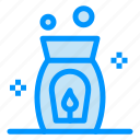 aroma, fire, spa icon
