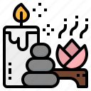aroma, massage, relax, spa, therapy icon