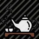 hot, relax, spa, tea, teapot