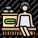 hot, sauna, spa, steam, wellness