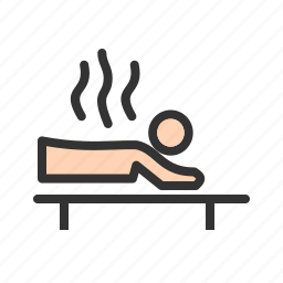 care, health, heat, medicine, spa, therapy, treatment icon