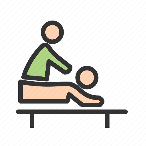 back, body, care, massage, spa, therapy, treatment icon