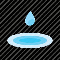 dew, drop, fresh, green, nature, rain, water icon