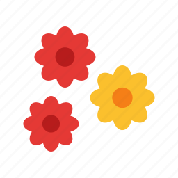 blossom, decoration, flower, flowers, garden, plant, sunlight icon