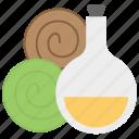 body oil, essential oil, herbal oil, massage oil, natural oil, spa oil icon