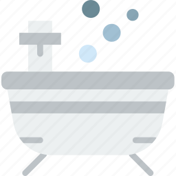 bath, beauty, spa, tub, yoga icon