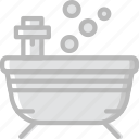 bath, beauty, spa, tub, yoga icon