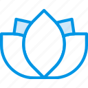 beauty, flower, lotus, spa, yoga icon
