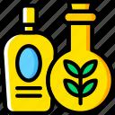 beauty, massage, oil, spa, yoga icon
