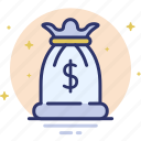 bag, bank, business, finance, investment, money, profit icon