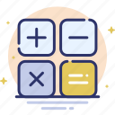 calc, calculate, finance, math, mathematics icon