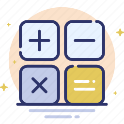 calc, calculate, finance, math, mathematics icon