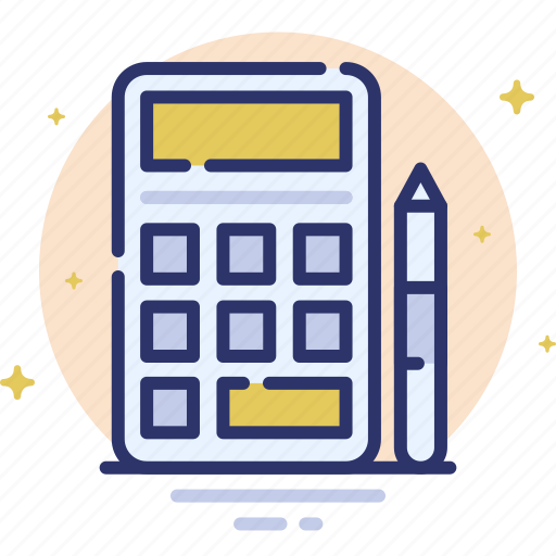 calc, calculator, finance, math, mathematics icon