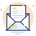 email, envelope, incoming, letter, mail icon