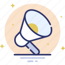 alert, attention, broadcast, megafone, megaphone icon