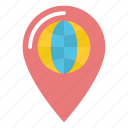 location, locator, map, marker, pin, pointer icon