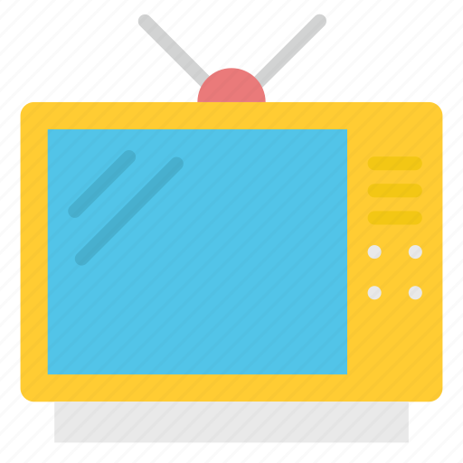 Old, retro, screen, television, tv icon - Download on Iconfinder