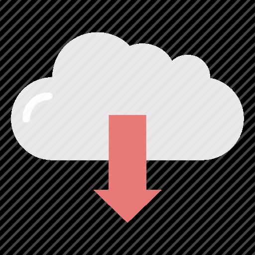 Cloud, data, download, storage icon - Download on Iconfinder