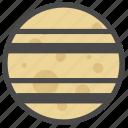 celestial body, planet, saturn icon