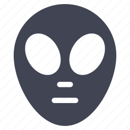 alien, astronomy, monster, space, ufo icon