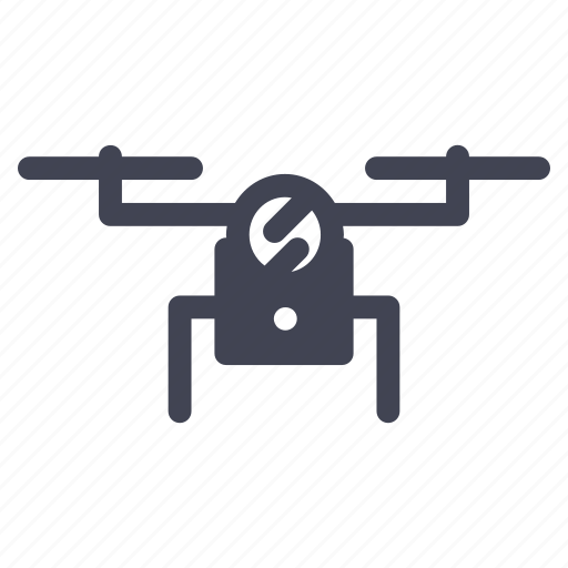 aircraft, copter, drone, hover, quadcopter, space icon