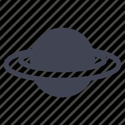 astronomy, globe, planet, space icon