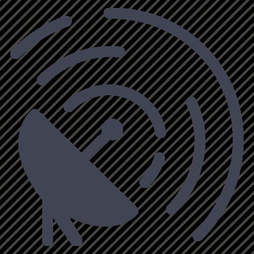 communication, satellite, soace, technology, television icon